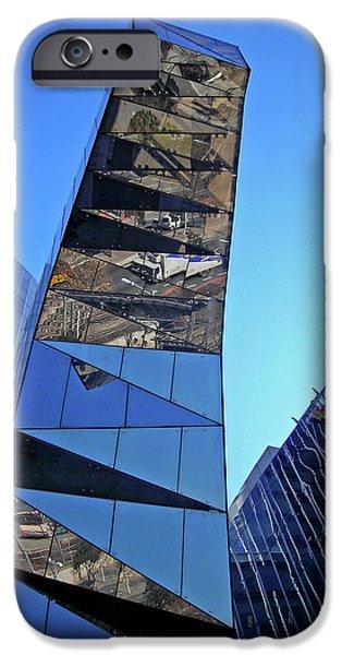 Torre Mare Nostrum - Torre Gas Natural iPhone Case by Juergen Weiss