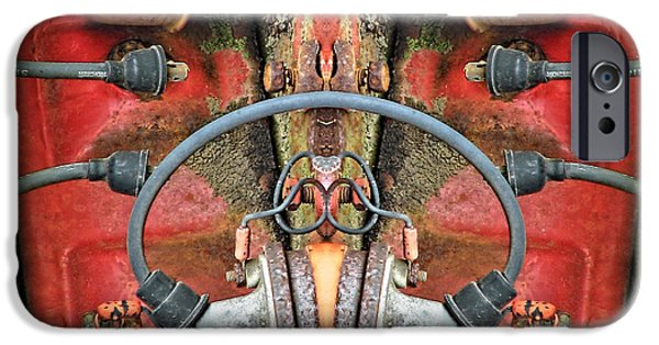 Business Digital Art iPhone Cases - Torso iPhone Case by Wendy J St Christopher
