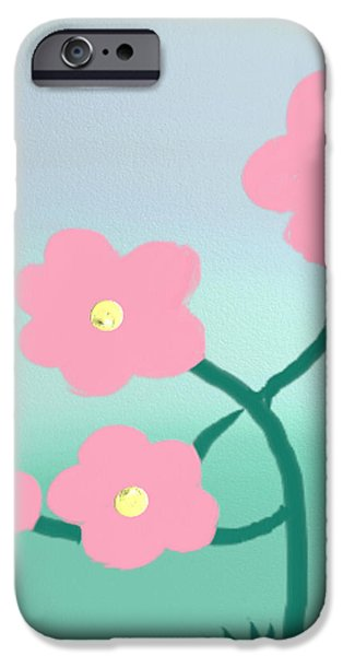 Gina Lee Manley iPhone Cases - Touch Of Spring iPhone Case by Gina Lee Manley