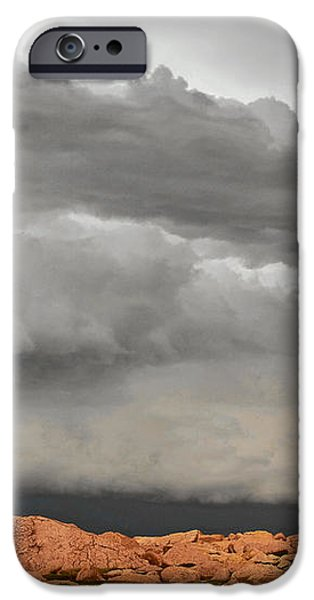 Touch The Clouds iPhone Case by Christine Till