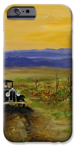 Touring Arizona iPhone Case by Jack Skinner