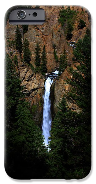 Epic iPhone Cases - Tower Falls iPhone Case by Flat Owl Photo