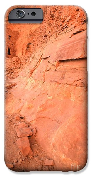 Overhang iPhone Cases - Tower House Ruin Portrait iPhone Case by Adam Jewell