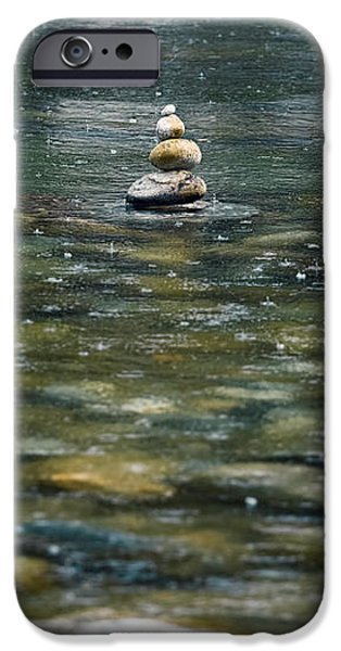 tower of stones iPhone Case by Joana Kruse