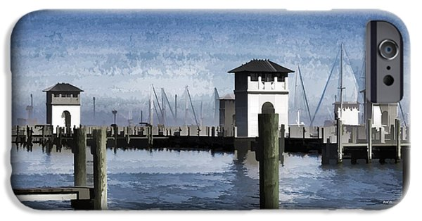 Electrical iPhone Cases - Towers and Masts iPhone Case by Roberta Byram