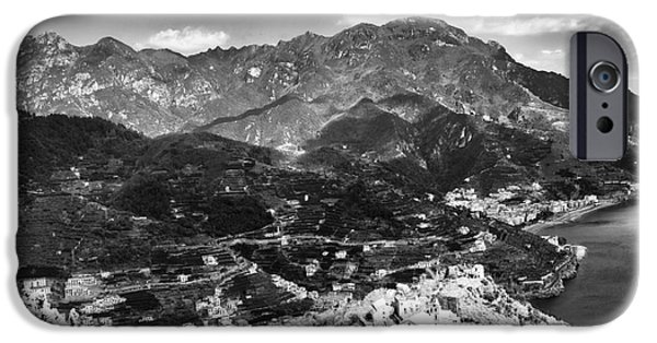 Town iPhone Cases - Town of Ravello iPhone Case by John Rizzuto