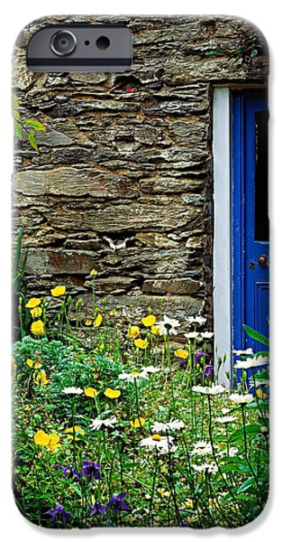 Traditional Cottage, Co Cork iPhone Case by The Irish Image Collection