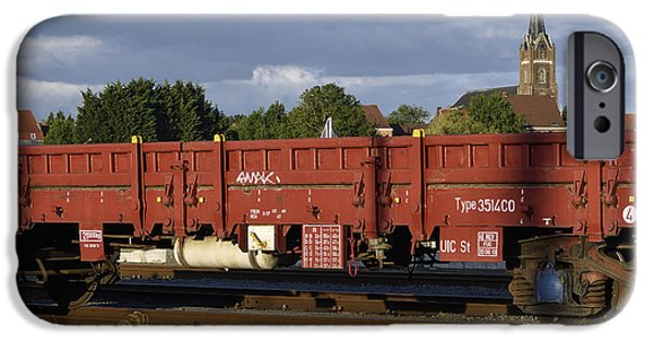 Electrical iPhone Cases - Train cars iPhone Case by TouTouke A Y