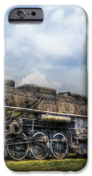 Train - Engine - Nickel Plate Road iPhone Case by Mike Savad