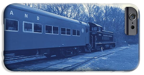 Old Cars iPhone Cases - Trains2 3a iPhone Case by Jay Mann