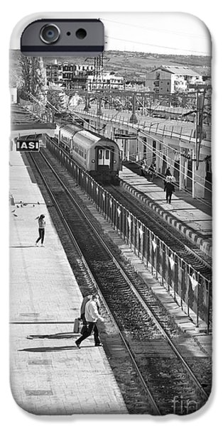 Trainstation iPhone Case by Gabriela Insuratelu