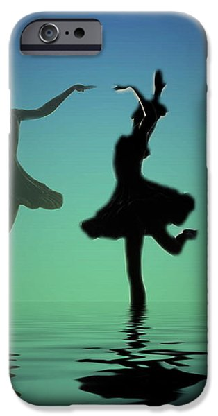 Tranquil Persuasion iPhone Case by Joyce Dickens
