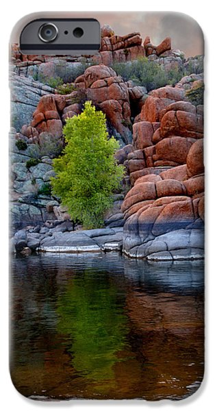 Prescott iPhone Cases - Tranquility iPhone Case by Martin Massari