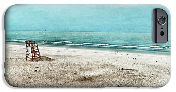 Tybee Island iPhone Cases - Tranquility on Tybee Island iPhone Case by Tammy Wetzel