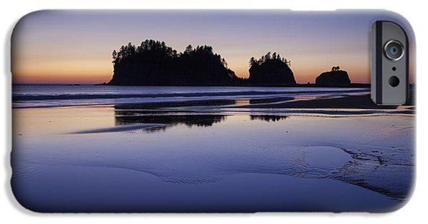 Ocean Sunset iPhone Cases - Tranquility iPhone Case by Timothy Johnson
