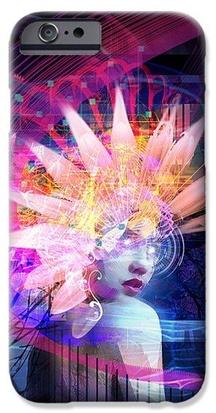 Transcendance iPhone Case by Philip Straub