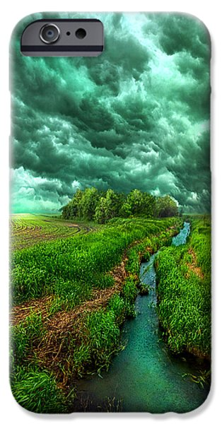 Storm iPhone Cases - Transformation iPhone Case by Phil Koch