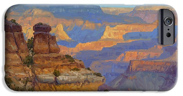 Grand Canyon iPhone Cases - Transient Light iPhone Case by Cody DeLong
