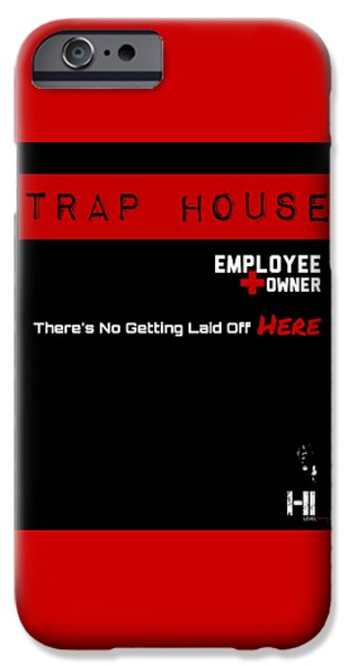 Cities Tapestries - Textiles iPhone Cases - Trap House  iPhone Case by HI Level