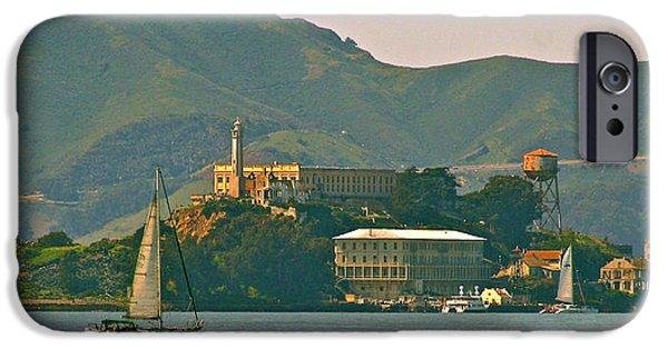 Alcatraz iPhone Cases - Traz iPhone Case by DUG Harpster