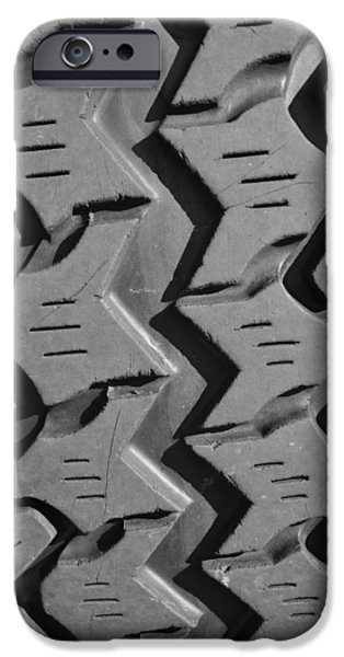 Jeep iPhone Cases - Tread Blox 1 iPhone Case by Luke Moore