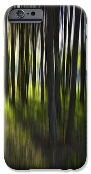 Tree abstract iPhone Case by Sheila Smart