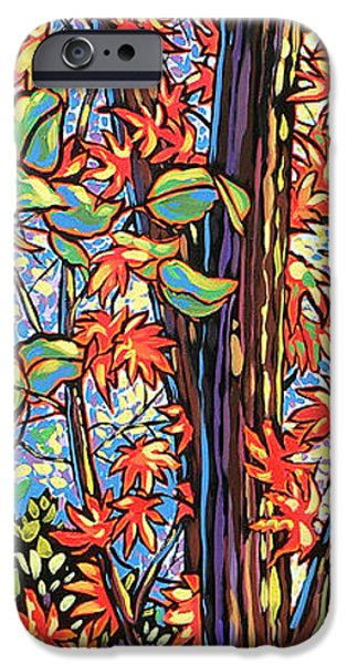 Nadi Spencer iPhone Cases - Tree Long iPhone Case by Nadi Spencer