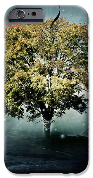 Tree of Hope iPhone Case by Karen K