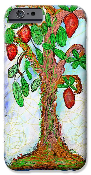 Miracle iPhone Cases - Tree Of Life iPhone Case by Ian Roz