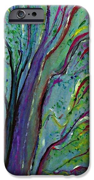 Sarah Loft iPhone Cases - Tree iPhone Case by Sarah Loft