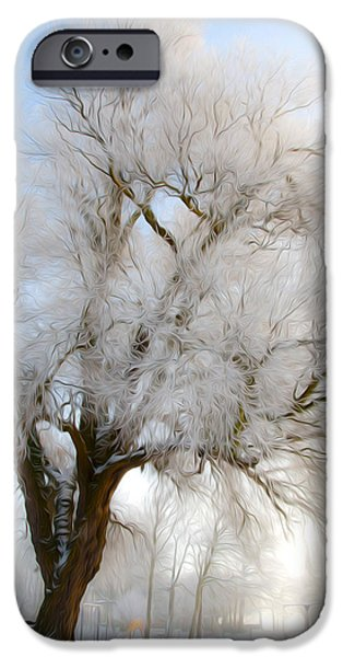 Seagull iPhone Cases - Tree iPhone Case by Svetlana Sewell