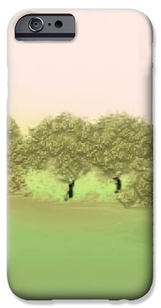 Treeline iPhone Case by Gina Lee Manley
