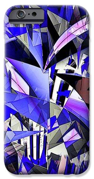 Triangulate iPhone Case by Ron Bissett