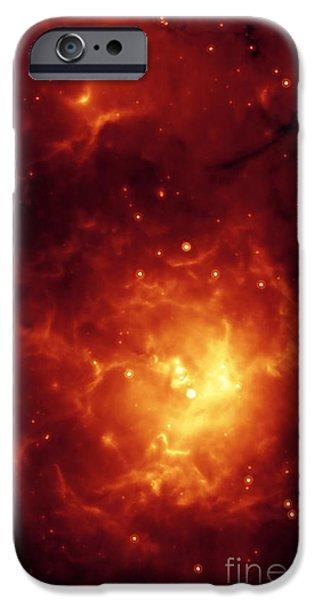 Stellar iPhone Cases - Trifid Nebula iPhone Case by NASA / Science Source
