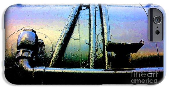 Oil Slick iPhone Cases - Trojan Horse iPhone Case by David Walker