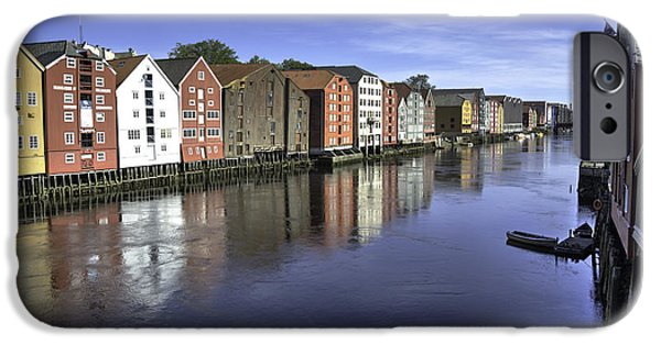 Norway iPhone Cases - Trondheim Norway iPhone Case by Alan Toepfer