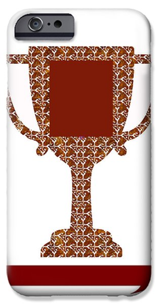 Diy iPhone Cases - Trophy Award Template for business institutions and charities DOWNLOAD stockIMAGE stockART iPhone Case by Navin Joshi