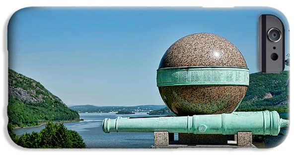 Hudson River iPhone Cases - Trophy Point iPhone Case by Dan McManus