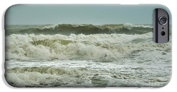 Interior Scene iPhone Cases - Tropical Storm Ana 4 iPhone Case by Bob Sample