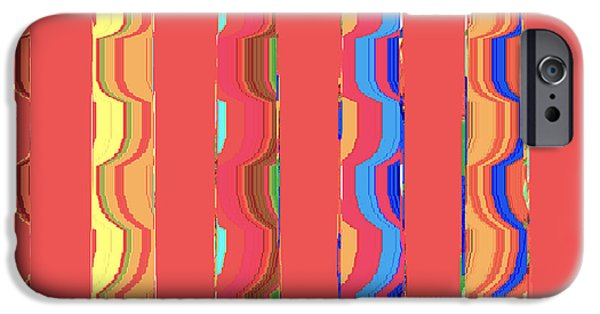 Furniture iPhone Cases - Tropical Vibrations Tapestry iPhone Case by Ann Johndro-Collins