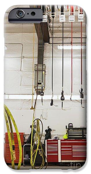 Truck Repair Shop iPhone Case by Don Mason