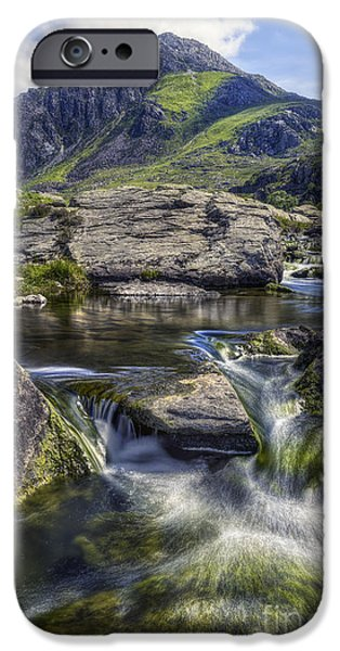 River iPhone Cases - Tryfans Treasures iPhone Case by Ian Mitchell