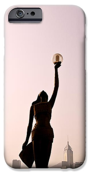 Tsim Sha Tsui K iPhone Case by Ray Laskowitz - Printscapes