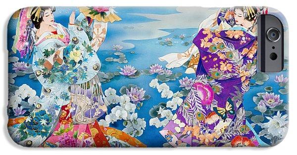 Culture iPhone Cases - Tsuki Hoshi iPhone Case by Haruyo Morita