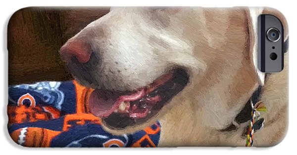 Dog Photography iPhone Cases - Tucker iPhone Case by Doug Kreuger