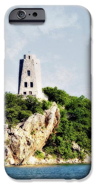 Tucker Tower iPhone Case by Lana Trussell