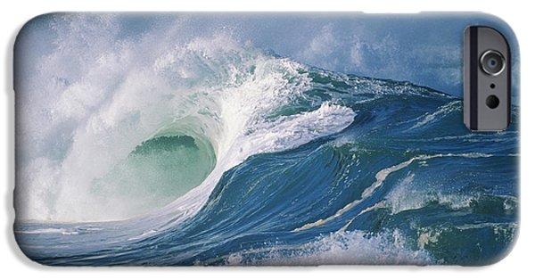 Turbulent Skies iPhone Cases - Turbulent Shorebreak iPhone Case by Vince Cavataio - Printscapes