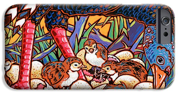 Nadi Spencer iPhone Cases - Turkeys iPhone Case by Nadi Spencer