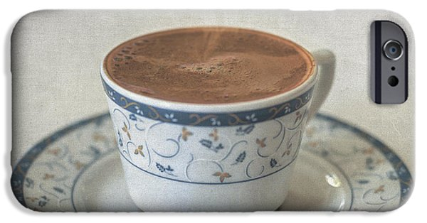 Interior Still Life iPhone Cases - Turkish Coffee iPhone Case by Taylan Soyturk