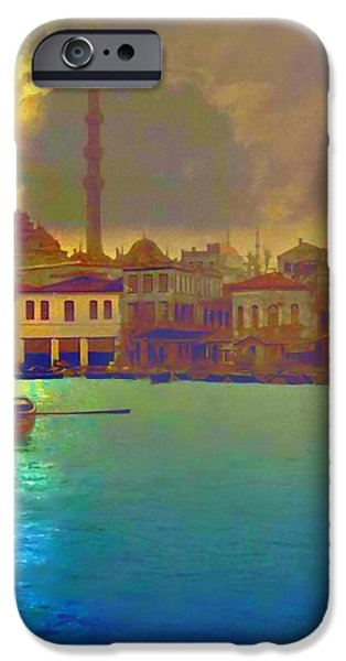 Turkish  Moonlight iPhone Case by Saiyyidah Seema  Z